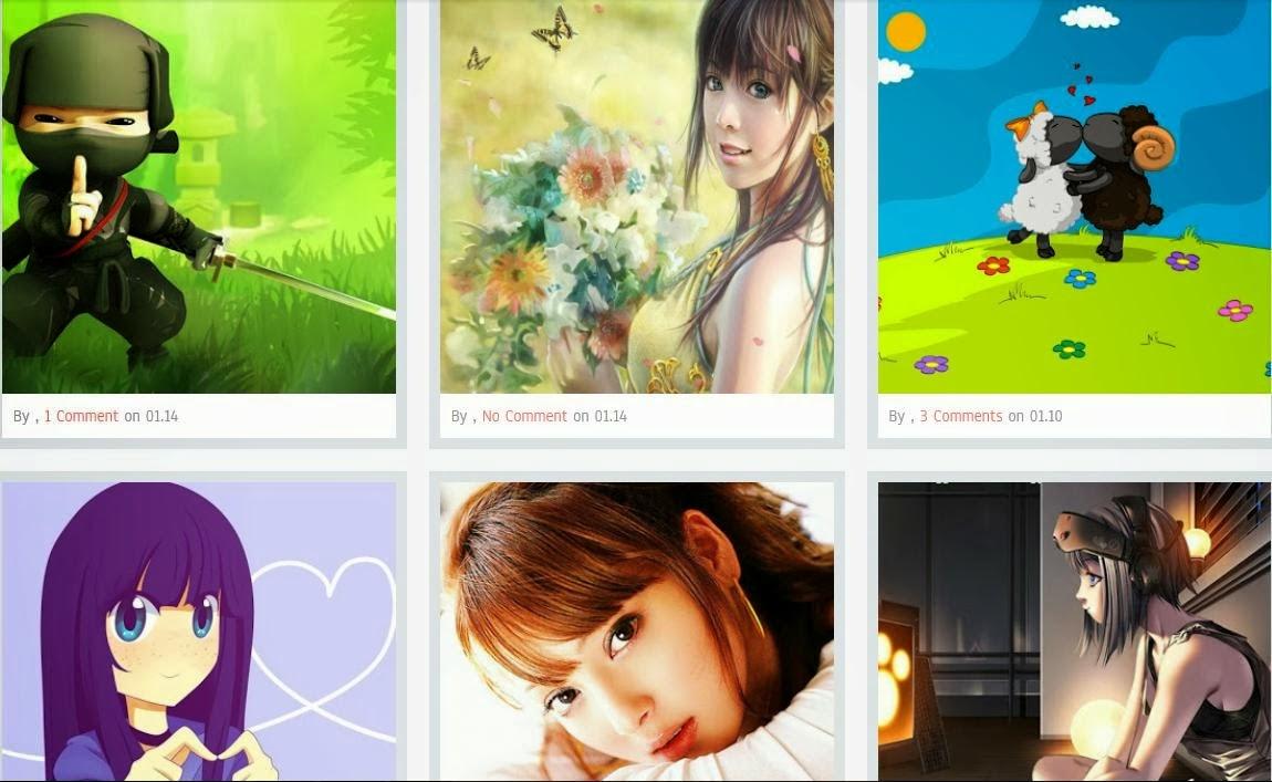Aisuka Blog Blogger Template