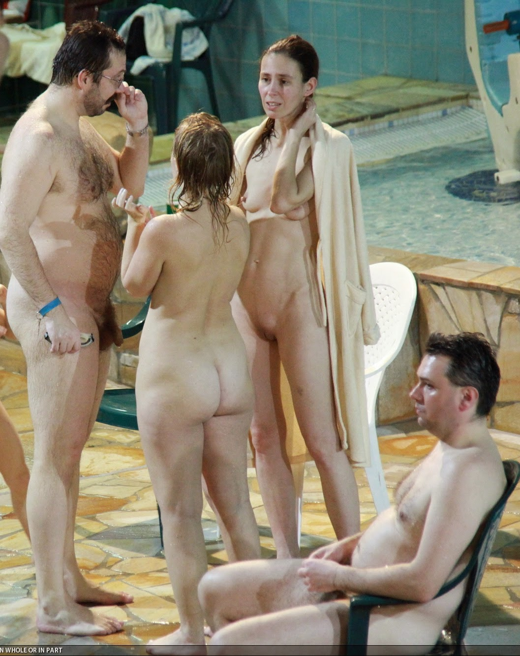 nudity at the water park