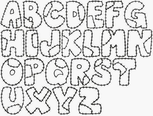 Mi cestita del parque letras de fieltro - Letras para adornar ...
