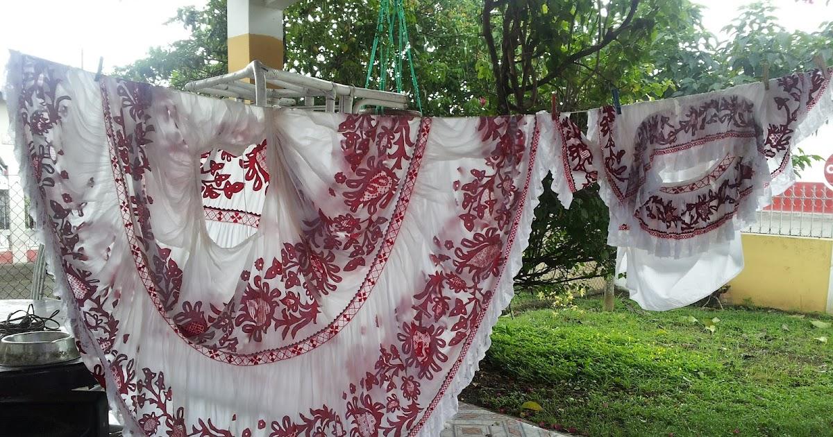 Folklore de panama lavado y planchado de pollera - Lavado y planchado ...