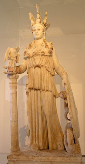 Athena Parthenos. Replica, Roman period, 2nd century CE
