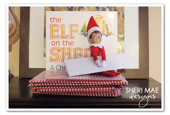 Sheri mae designs timmy the elf has returned a letter just like last year he brought the girls books to unwrap for each day that he is with them they were very excited about having timmy back spiritdancerdesigns Images