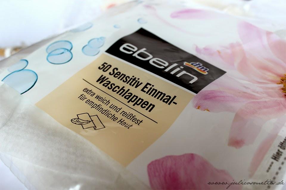 Ebelin 50 Sensitiv Einmal-Waschlappen