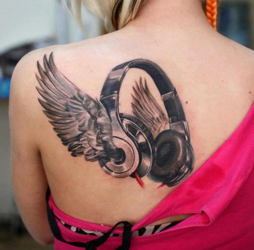 Tatouage Coeur Avec Des Ailes - 38 Tatouages ailes pour femmes Tatouagesfr
