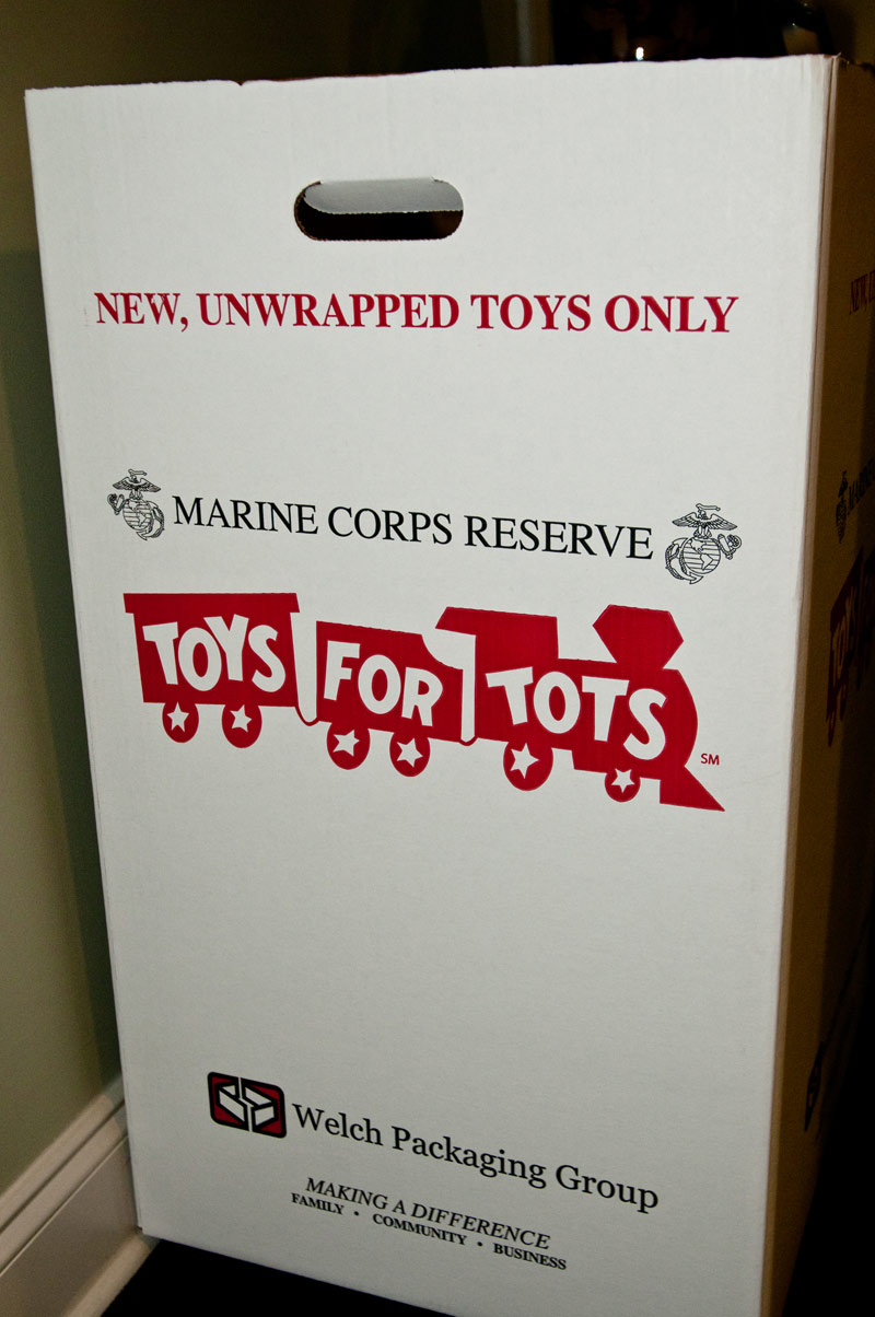 Drop Off A New Unwrapped Toy Today