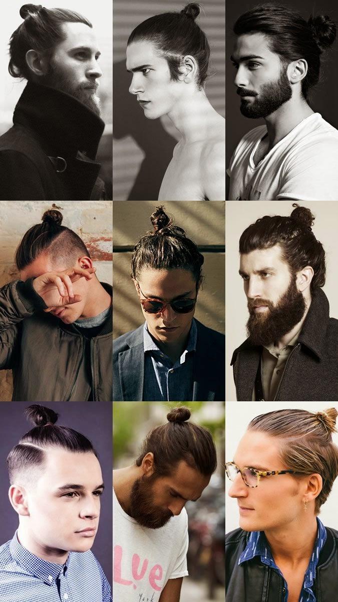 men long hairstyle