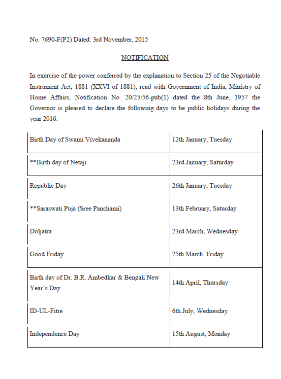 indian holidays 2015 list pdf