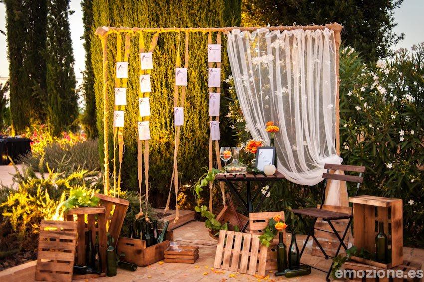 Bodas a medida una boda inspirada en el vino en la mas a for Decoracion bodas valencia