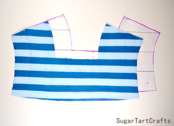 How to easily match up striped knits when sewing