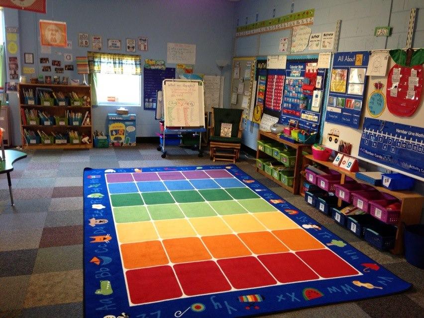 Z Classroom Design : Under the alphabet tree classroom set up then now