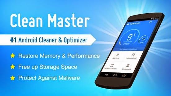 Aplikasi Untuk Android Clean Master (Cleaner) Terbaru Gratis - 1