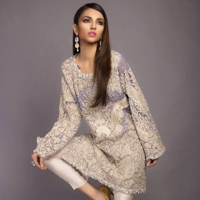 Sana Safinaz Latest Winter Dresses 2016 For Girls