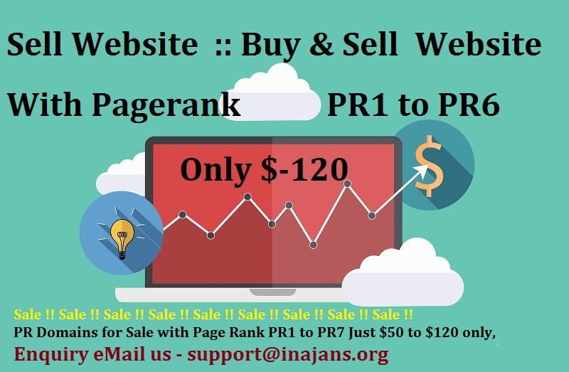 Buy Sell Domain with PageRank Website