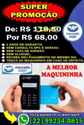 MAQUININHA MERCADO PAGO