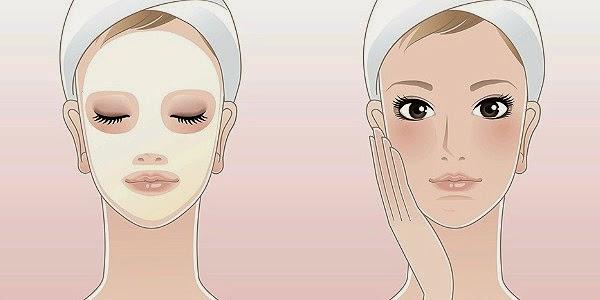 mascara facial caseira
