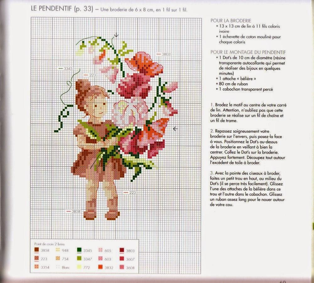 Схемы вышивок французских дизайнов