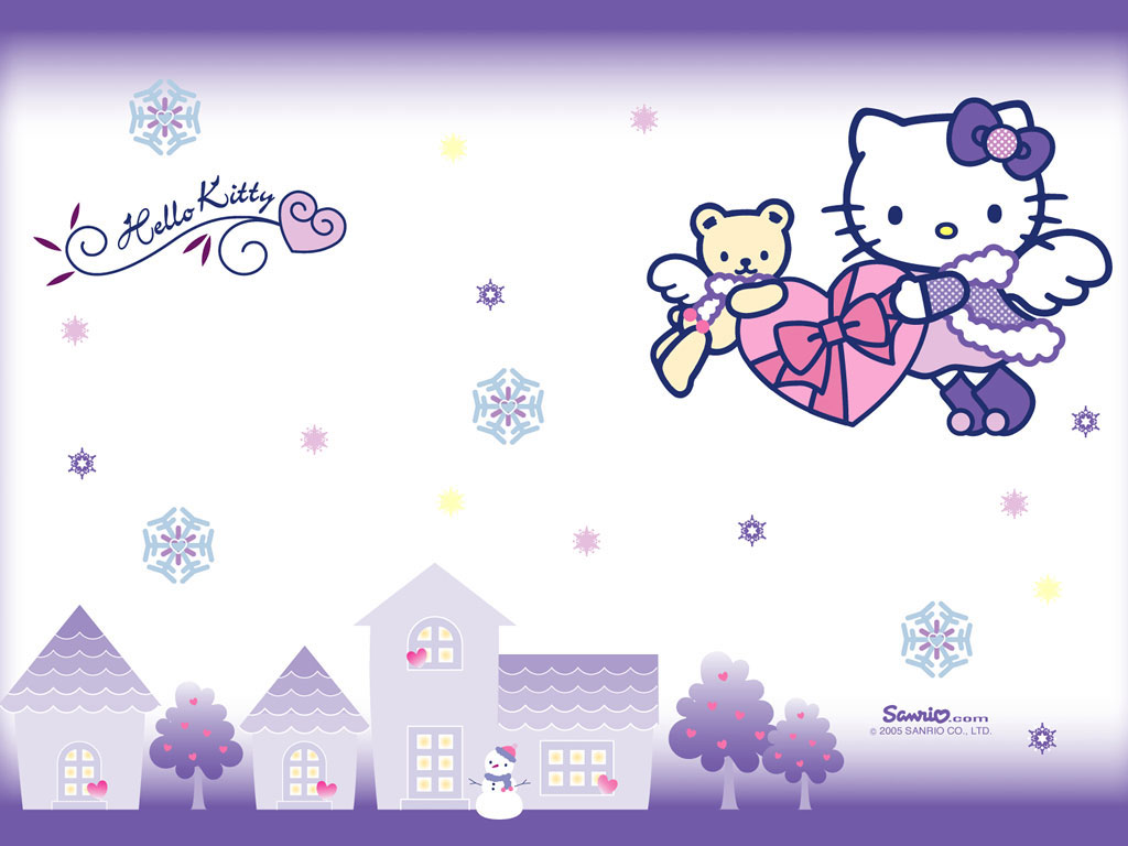 Download Wallpaper Hello Kitty Laptop - hellokittybackground0  You Should Have_91981.jpg