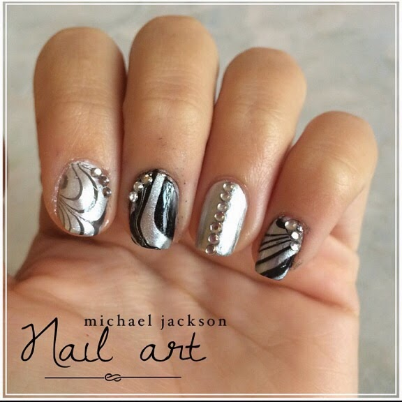Nailartando Michael Jackson Nail Art Inspired Ft Nailartlondra
