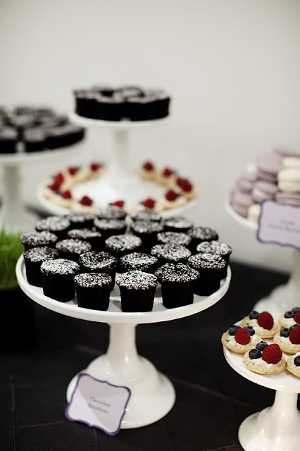 Wedding Dessert Table at the Walker Art Center