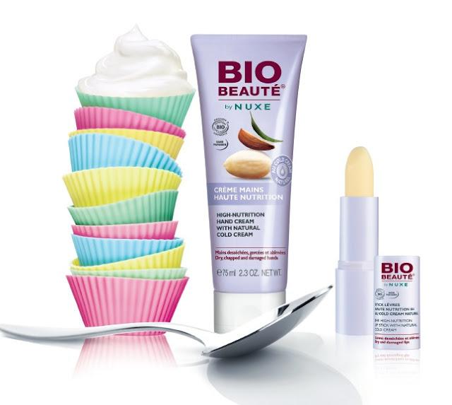 crema de manos y stick labios alta nutrición nuxe