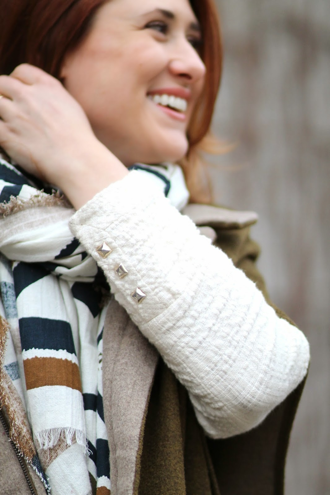 zara, scarf, cape