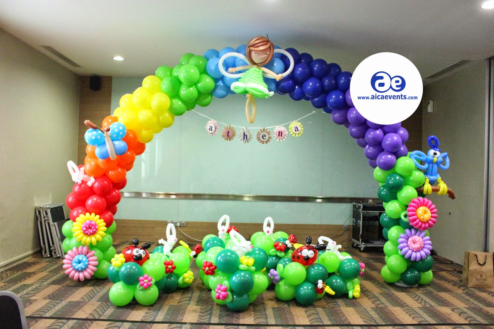 Aicaevents India Twisted Balloon Decorations Jungle Theme Balloon