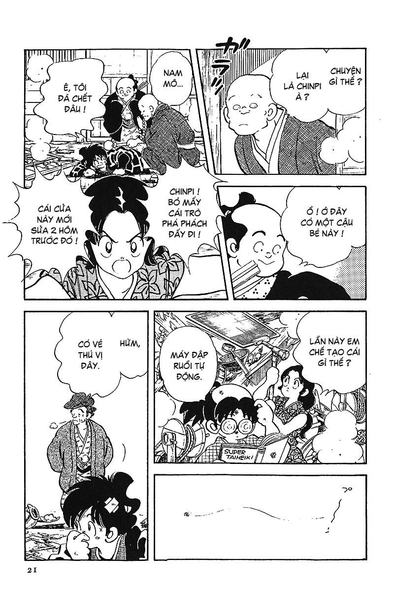 Nijiiro Togarashi - Ớt Bảy Màu chap 1 - Trang 23