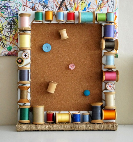 uses for wooden thread spools 2
