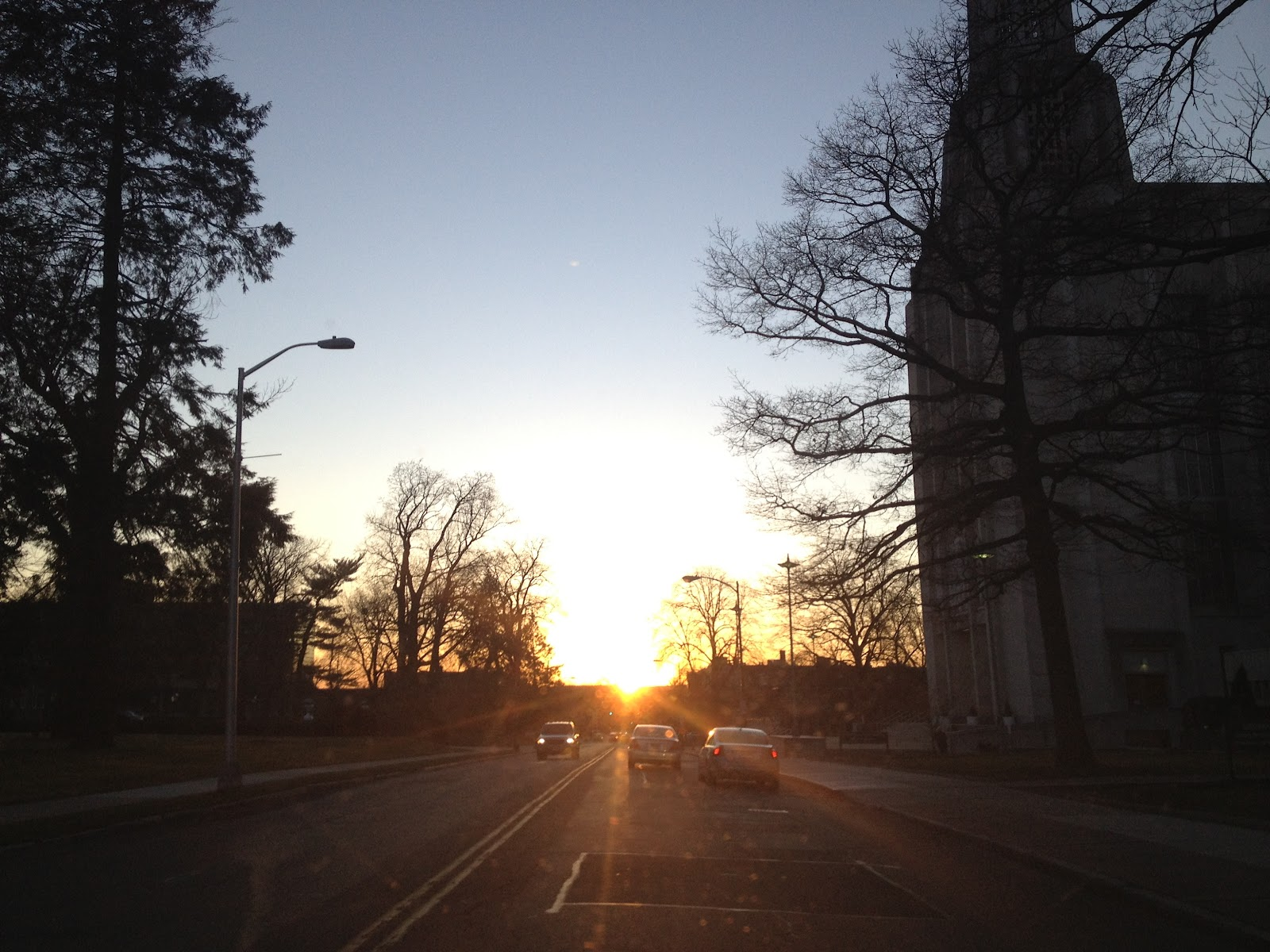 Especially If You Are Heading Down Farmington Ave Around Sunset Sunsets Are Almost Always Wonderful To Watch Unless You Happen To Be Driving Into One In