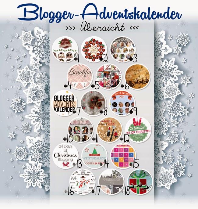 Weihnachtsverlosung, Giveaway, Bloggerkalender, Geschenke, Geschenkidee