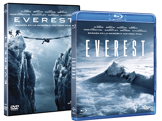 A la venta 'Everest' en DVD y Blu-Ray, y edición metálica