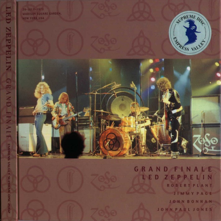 Led Zeppelin Bootlegs Mp3 1973 07 29 Madison Square Garden New York New York Usa Grand