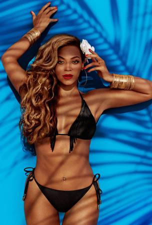 Beyoncé colección bikinis H&M verano 2013