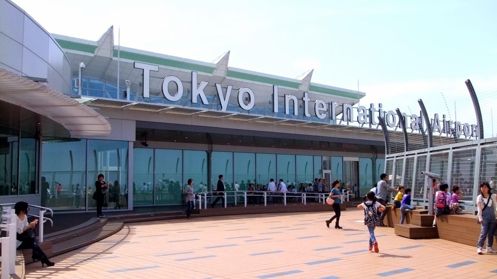 Bandara Internasional Haneda Tokyo, Jepang