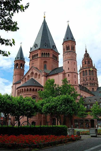 Catedral de Mogúncia (Mainz) Alemanha