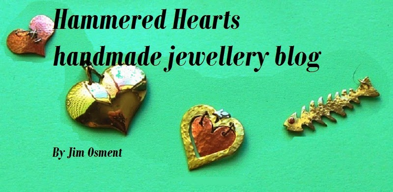 Hammered Hearts jewellery blog