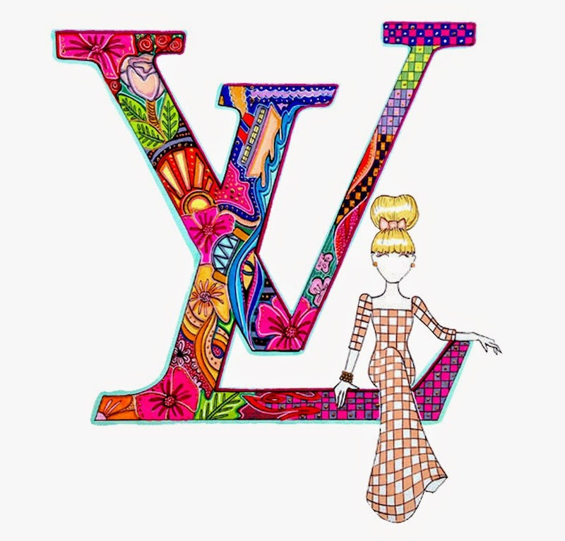 Aaron Favaloro, Moschino, McDonalds, Fast Food, Christine Centenera, Hermes, Louis Vuitton, Lucky You Cleanse, Fashion illustrator, Australian, Fashion illustration