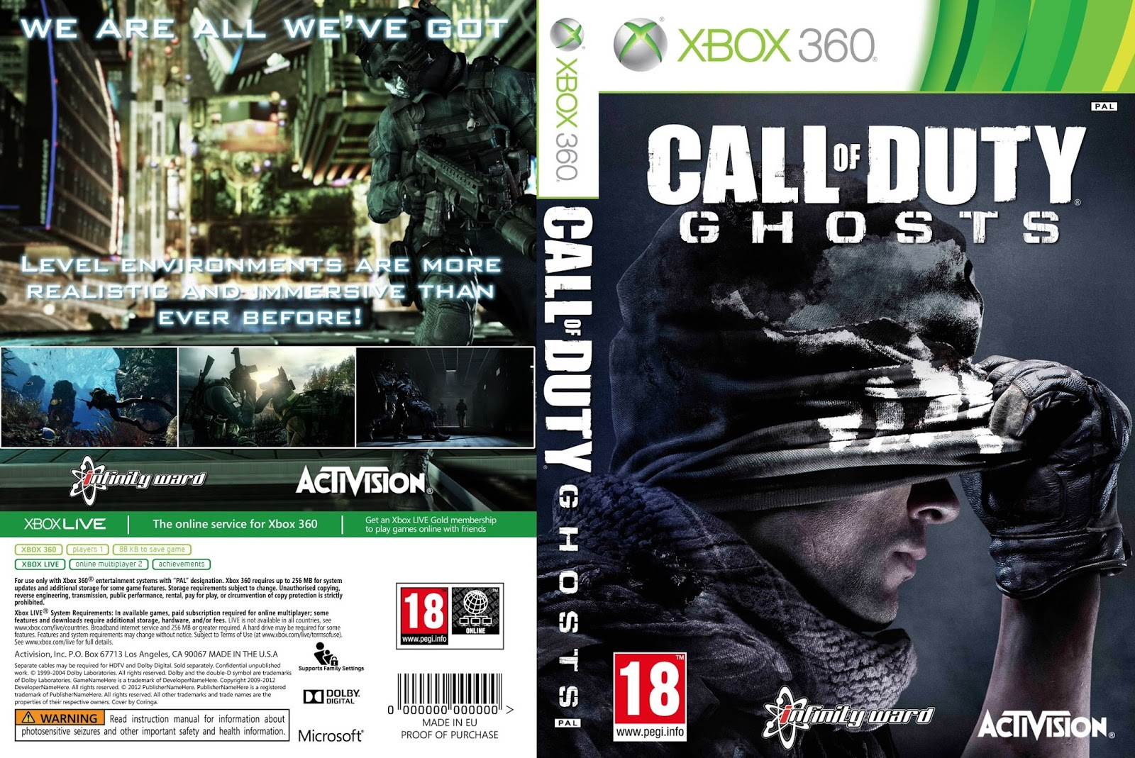 Call of Duty: Ghosts comes to Xbox backward compatibility ...