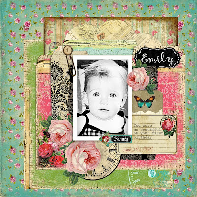Layout designed by Tonya A. Gibbs  using Scarlet - Digital papers by MarionSmithDesigns.com  #MarionSmithDesigns #TonyaGibbs #Psychomoms #hybrid #digi #digital #layout #Scrapbooking