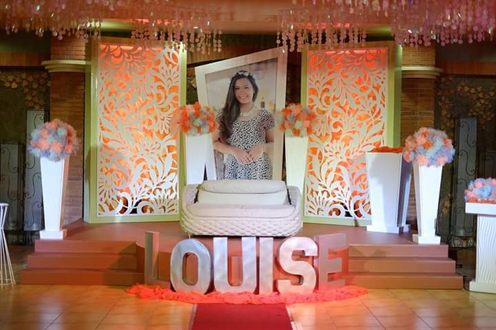 My Orange Pen: The Venue: Louise' 18th Birthday Celebration