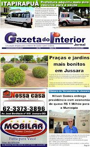 VEJA A EDIÇÃO Nº 56 DO JORNAL GAZETA DO INTERIOR