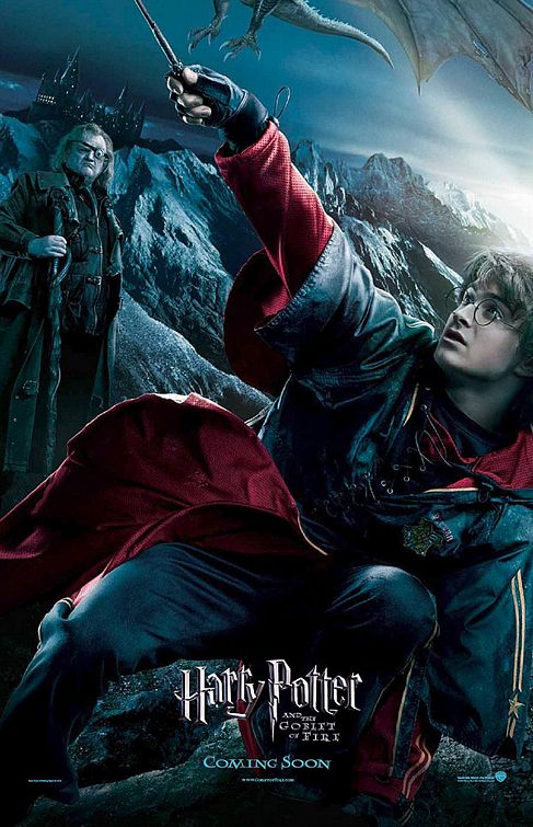 Harry Potter Goblet of Fire poster