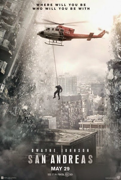 Film San Andreas 3D 2015