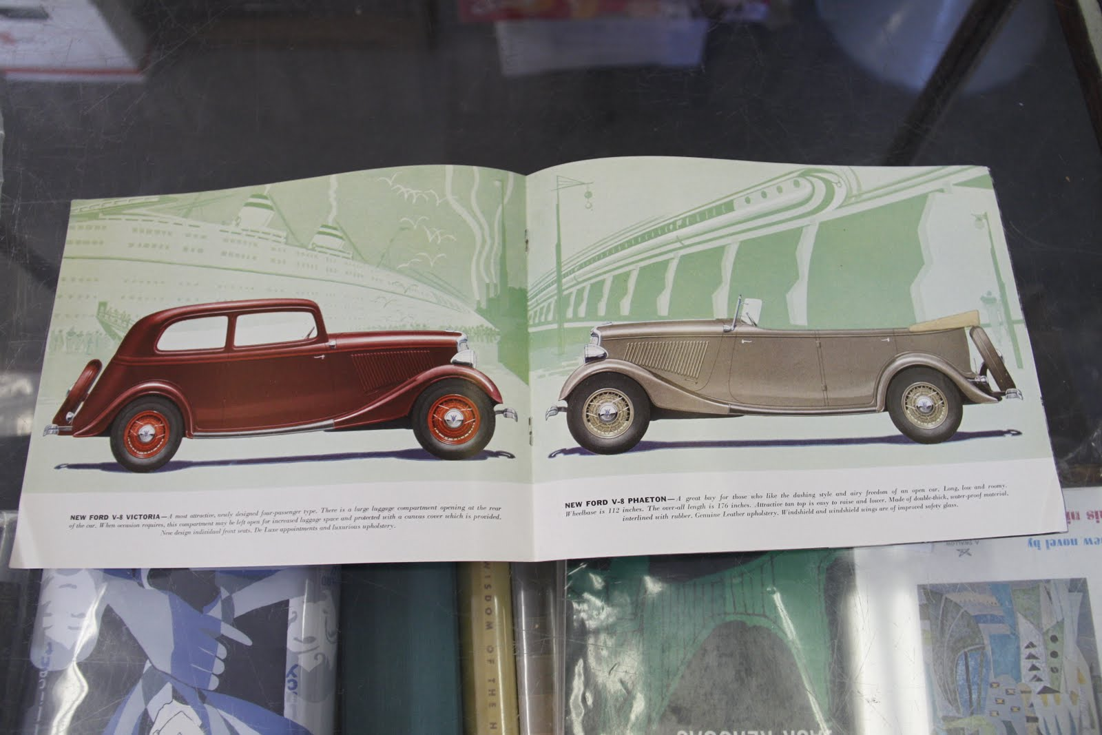 Longfellows Books Blog: Amazing Car Brochures from the 1920s-50s