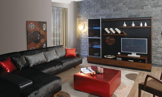 kahverengi+tv+unitesi+modeli Bellona Tv Üniteleri Modelleri