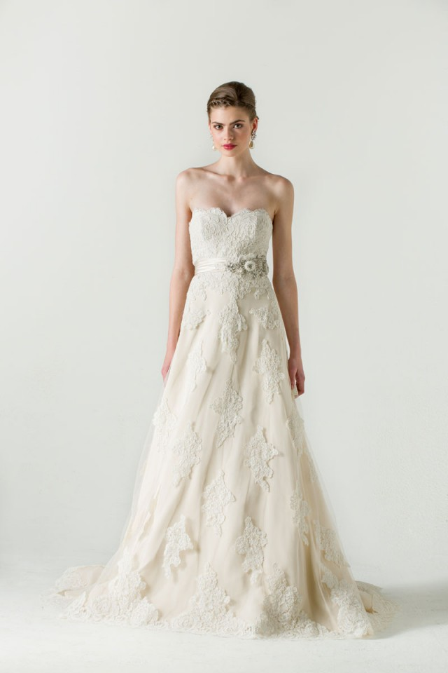 Hermosos vestidos de novias   Colección Anne Barge 2016