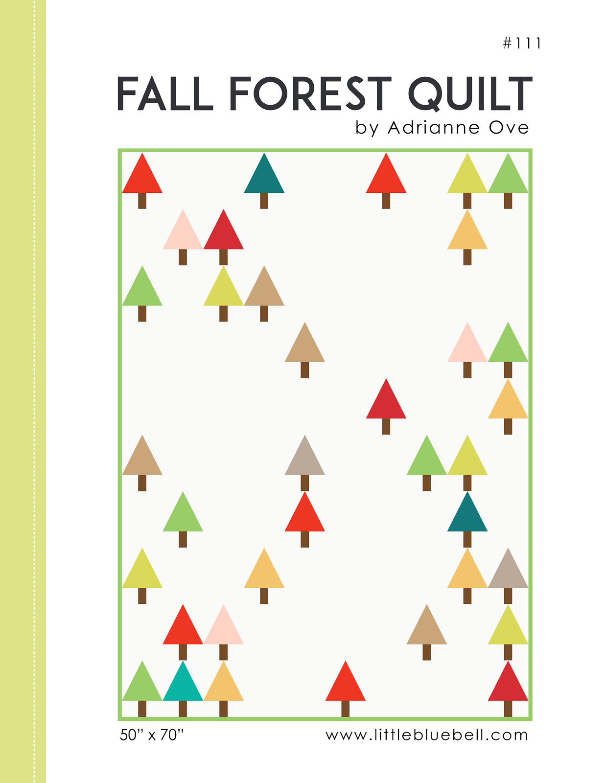 Fall Forest Quilt Pattern (PDF)