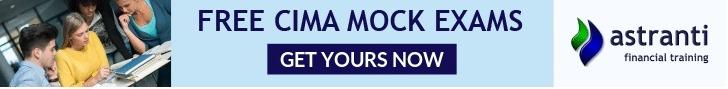 Free CIMA mock exams