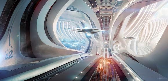 Bastien Grivet grivetart deviantart ilustrações fantasia ficção arte conceitual cenários futuristas