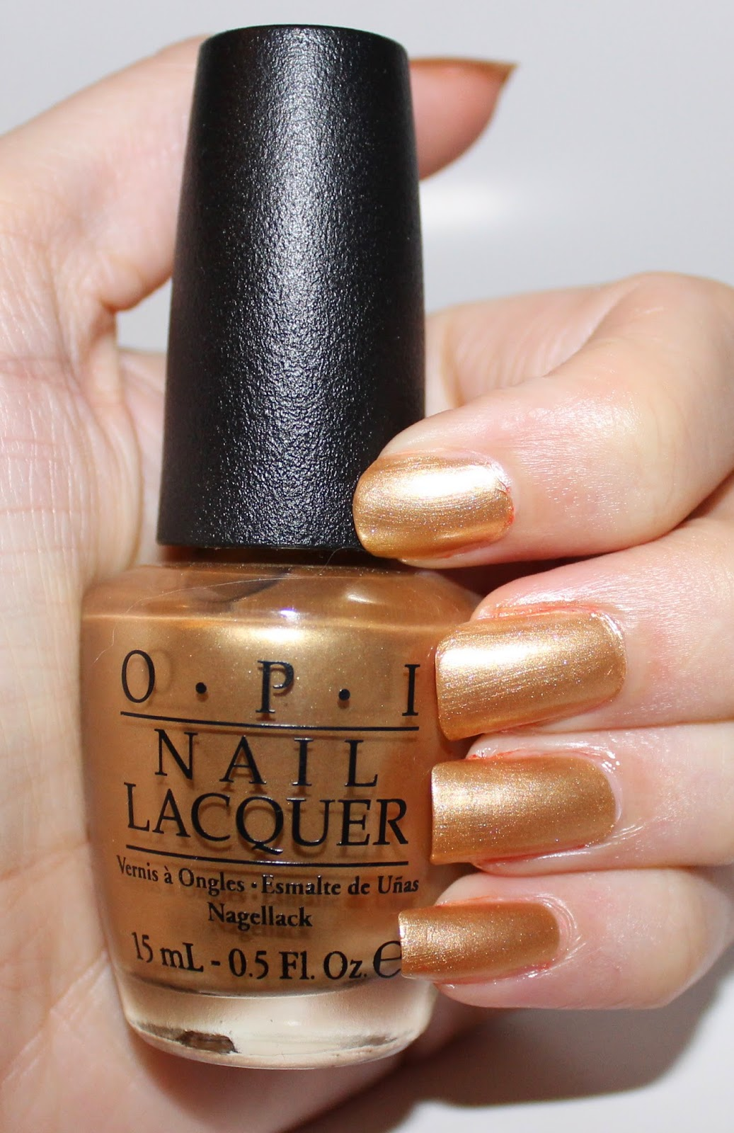 OPI 50 Years Of Style Swatch